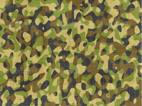 GraphicRiver Camouflage fabric 6367473
