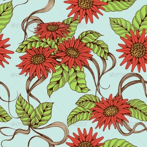 GraphicRiver Romantic Seamless Pattern 6367801