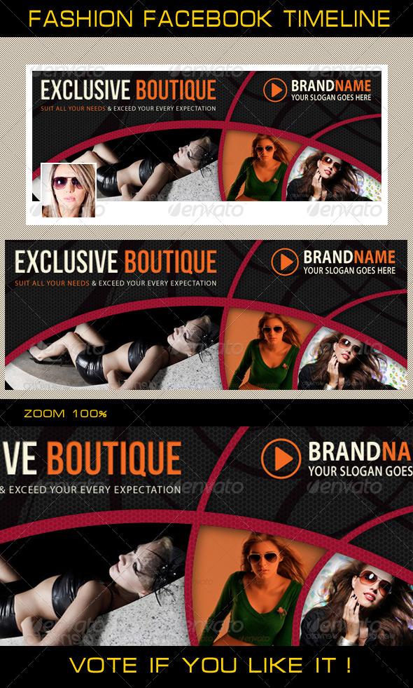 GraphicRiver Fashion Facebook Timeline 04 6369039