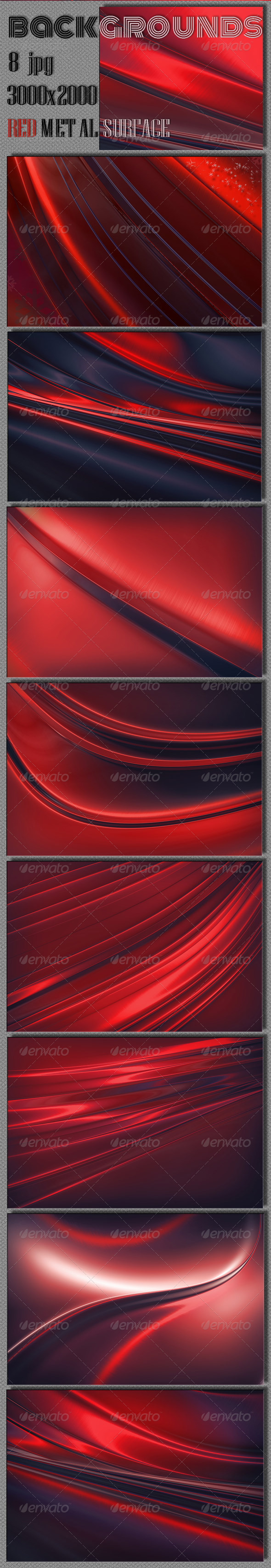 GraphicRiver Red Steel Background 6369133