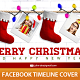 Christmas Boots TimeLine Cover - GraphicRiver Item for Sale