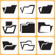 Folder Icons Set - GraphicRiver Item for Sale
