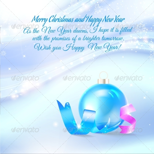 GraphicRiver Christmas Greeting Card 6372010