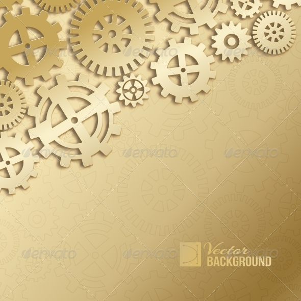 GraphicRiver Abstract Gear Wheels 6372102