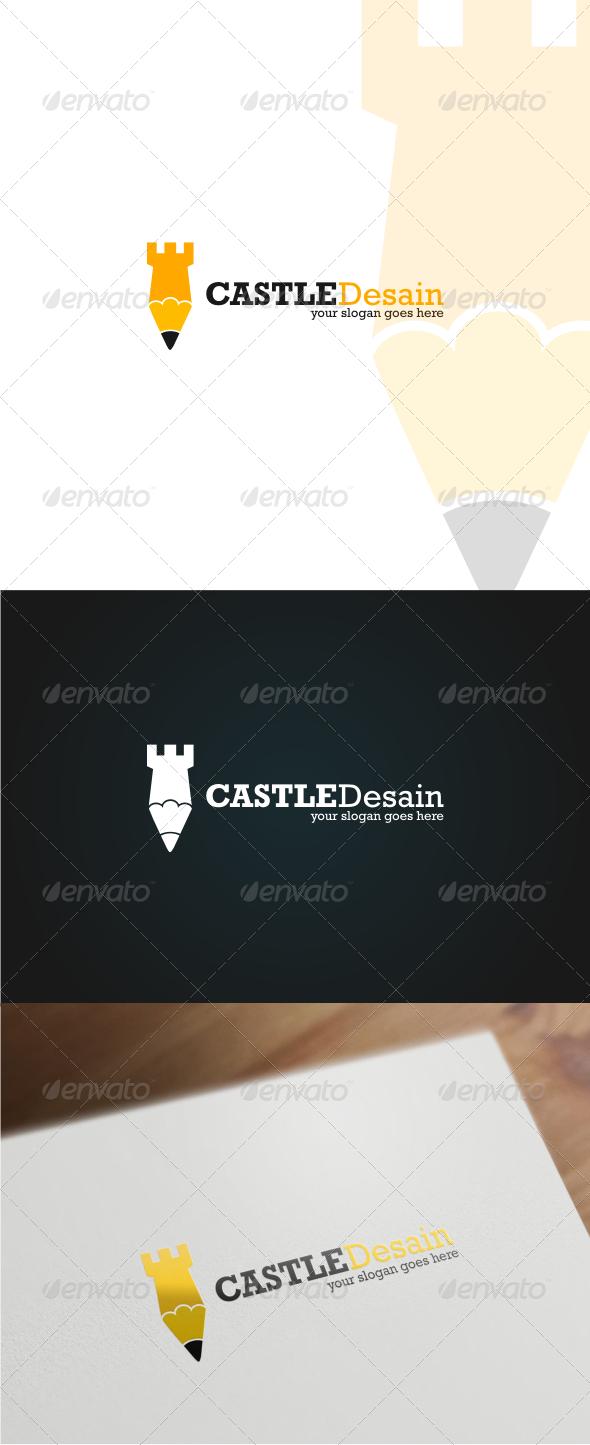 GraphicRiver Castle Design Logo Template 6372357