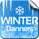 Winter Banners - GraphicRiver Item for Sale