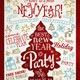 Christmas New Year's Party Flyer/Poster - GraphicRiver Item for Sale
