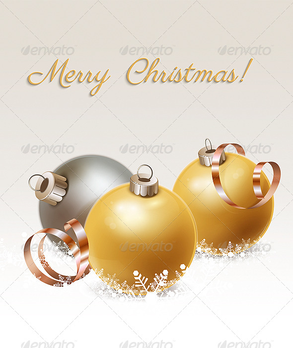 GraphicRiver Christmas Decoration 6374855