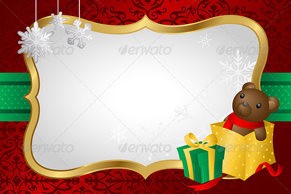 GraphicRiver Christmas Shopping Background 6375002