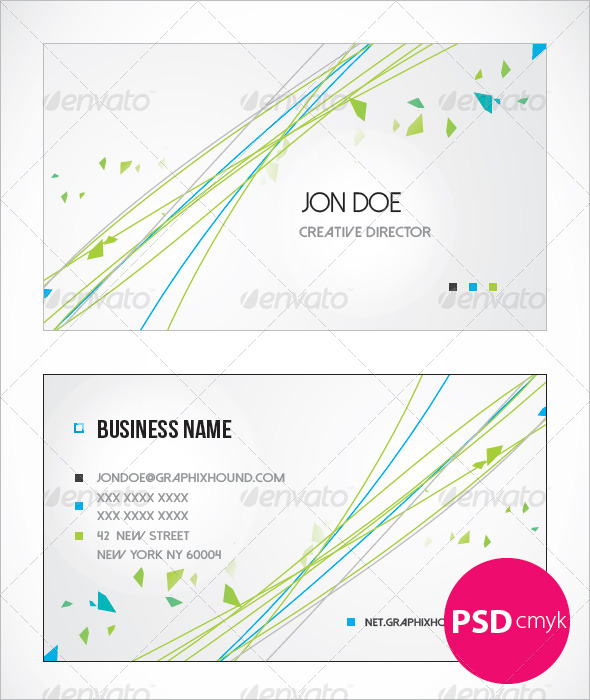 GraphicRiver Creative Business Card 6336448