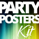 Multipurpose Seasonal Party Posters Kit - GraphicRiver Item for Sale