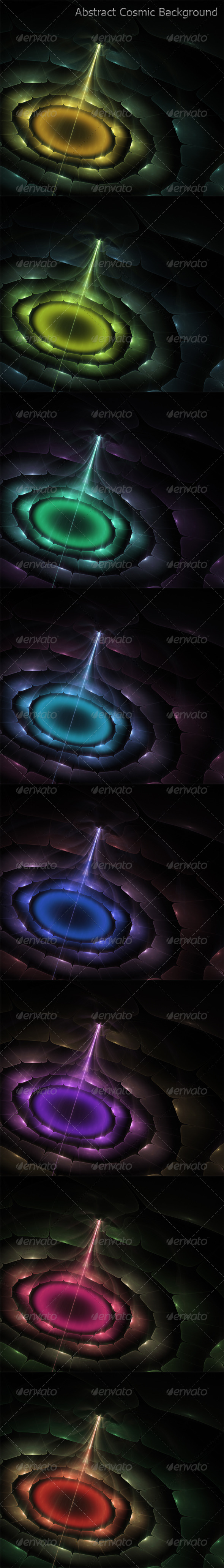 GraphicRiver Abstract Cosmic Background 6376378