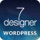 De7igner – Flat iOS7 Inspired OnePage Parallax WP (Creative) Download