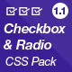 Checkbox & Radio CSS Pack - CodeCanyon Item for Sale