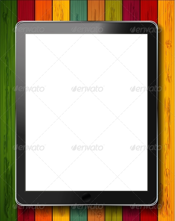 GraphicRiver Vector Tablet 6378038