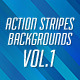 Action Stripes Backgrounds - GraphicRiver Item for Sale