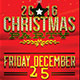 Christmas Party Holiday Flyer Template - GraphicRiver Item for Sale