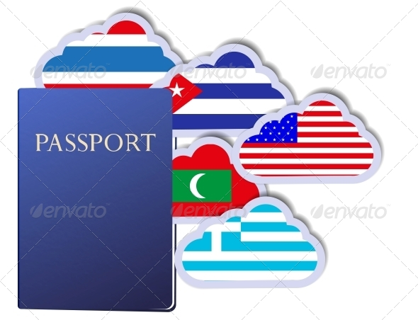 GraphicRiver Vector Concept of the Passport 6381048