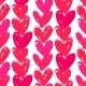 Valentine's Day Pattern with Hand Painted Hearts - GraphicRiver Item for Sale