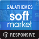Responsive Magento Theme - Gala SoftwareMarket - ThemeForest Item for Sale