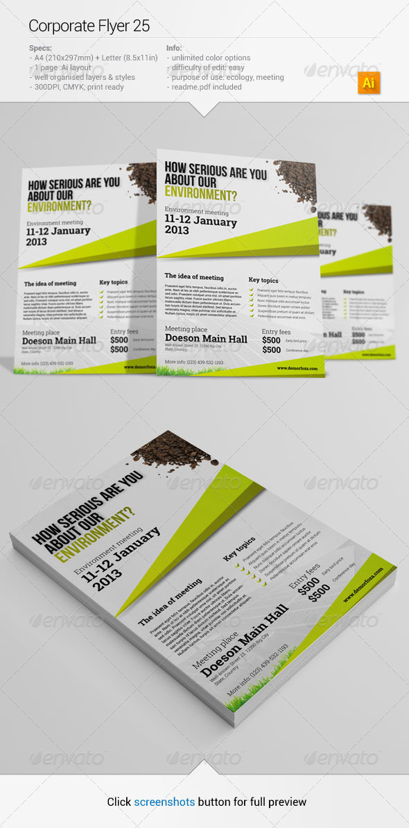 GraphicRiver Corporate Flyer 25 6384673