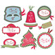 Christmas Labels - GraphicRiver Item for Sale
