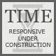 TIME - Responsive Under Construction Template - ThemeForest Item for Sale