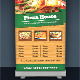 Food Roll-up Banner - GraphicRiver Item for Sale