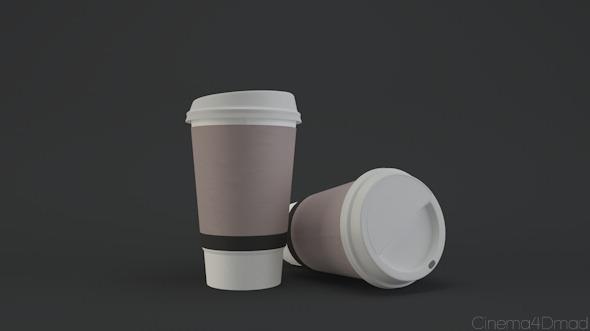3DOcean Paper coffee cup 6386219