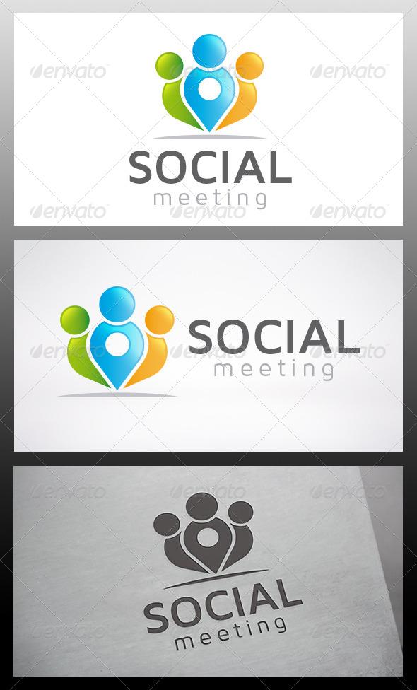 GraphicRiver Social Locator Logo 6386577