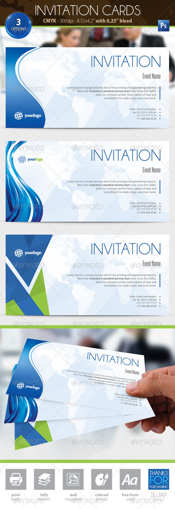 Invitation Cards - Events Flyers