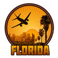 Welcome to Florida label - PhotoDune Item for Sale