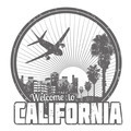 Welcome to California label - PhotoDune Item for Sale