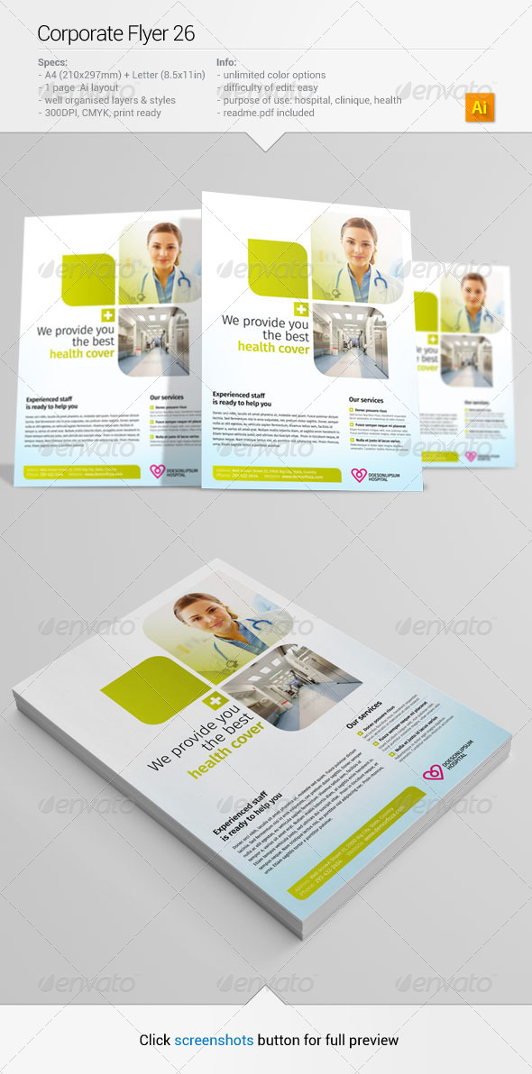 GraphicRiver Corporate Flyer 26 6389739