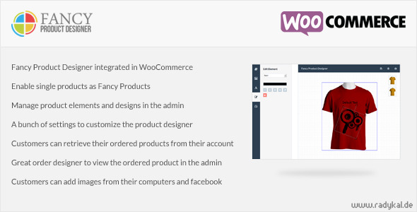 Fancy Product Designer - WooCommerce plugin - CodeCanyon Item for Sale