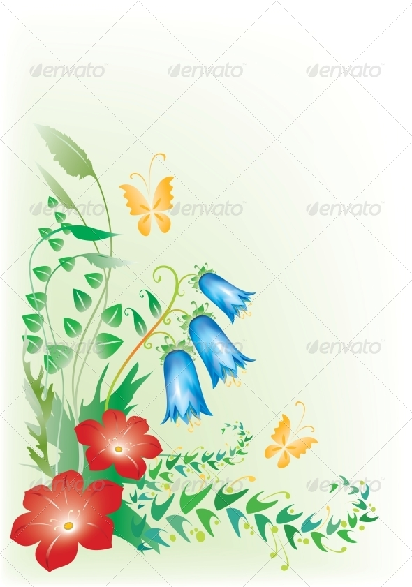 GraphicRiver Floral Design 6390291