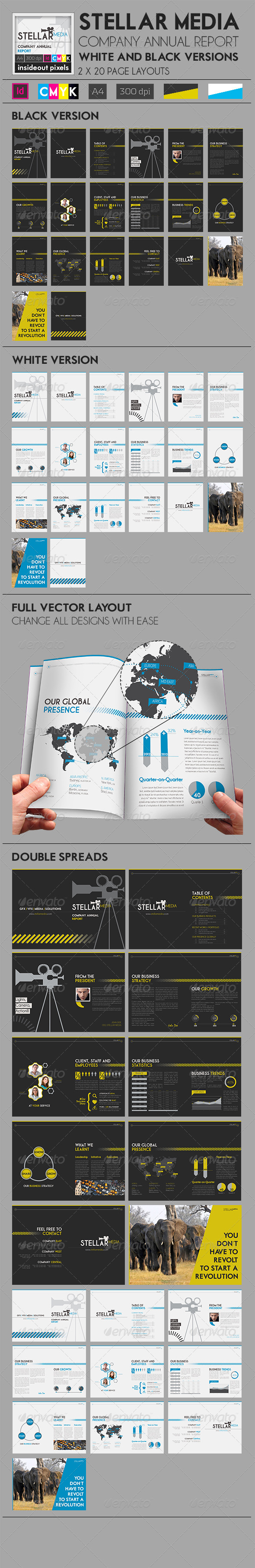 GraphicRiver StellaR Company Annual Report Magazine Template 6390633