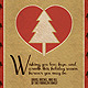 Wishing Christmas Greeting Card - GraphicRiver Item for Sale