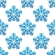 Snowflakes Seamless Pattern Background - GraphicRiver Item for Sale
