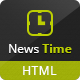 News Time Magazine / Blog HTML Template - ThemeForest Item for Sale
