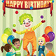 Birthday Party Clown - GraphicRiver Item for Sale