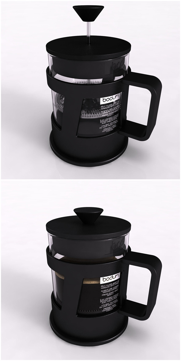 3DOcean Bodum Coffee Press 6392230