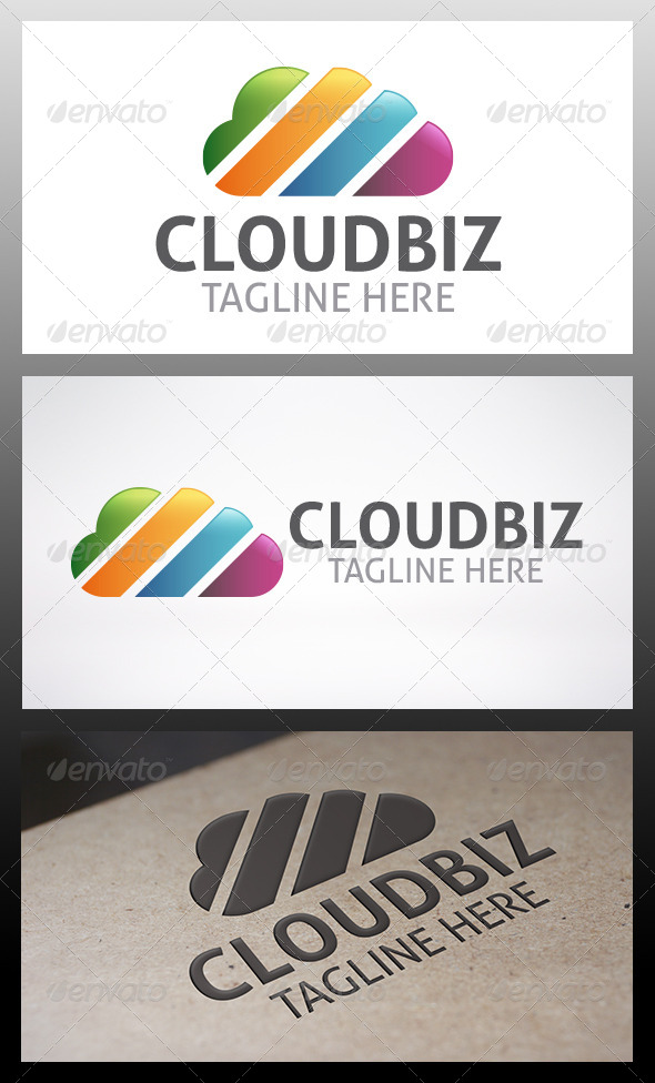GraphicRiver Cloud Logo 6393551