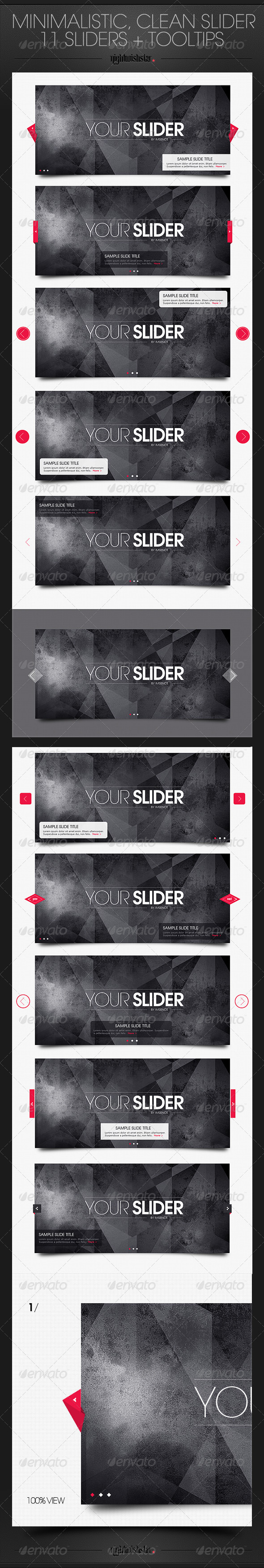 GraphicRiver Minimalistic Clean Slider 6393567