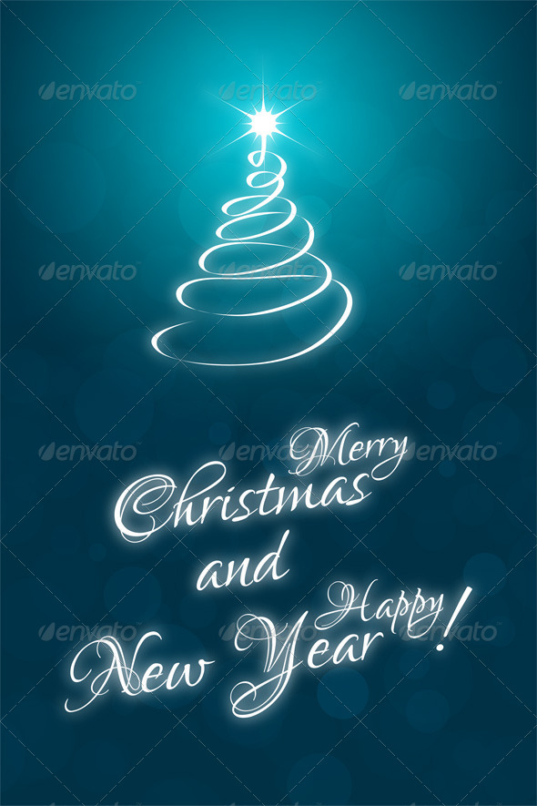 GraphicRiver Christmas Card Template 6393627