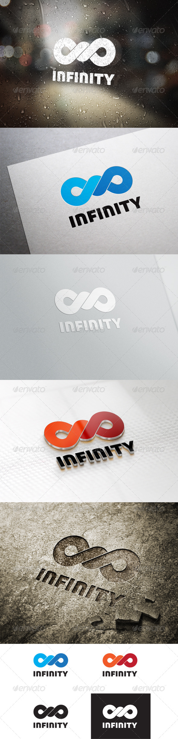 GraphicRiver Infinity Logo Template 6393882