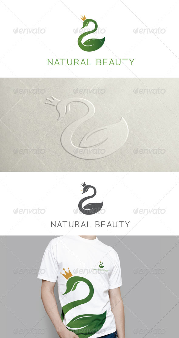 GraphicRiver Natural Beauty Logo Template 6394285