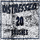 20 - Distressed Brush Set for Phototshop - GraphicRiver Item for Sale