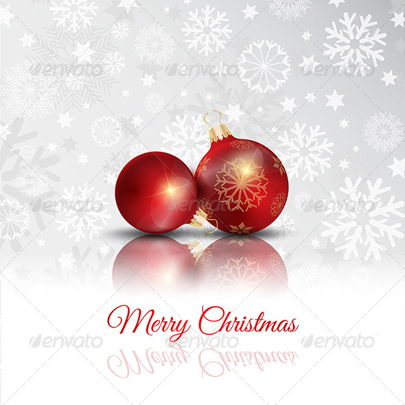 GraphicRiver Christmas Bauble Background 6394633