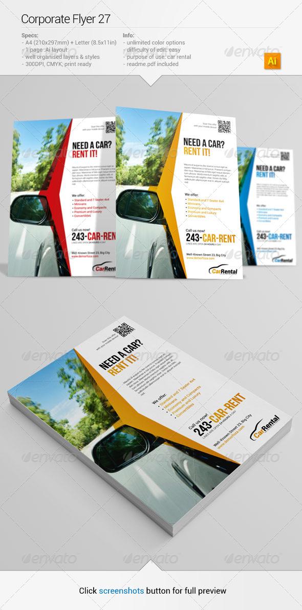 GraphicRiver Corporate Flyer 27 6395586